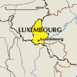 map luxembourg